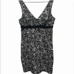 CONNECTED APPAREL Black & White summer dress 16